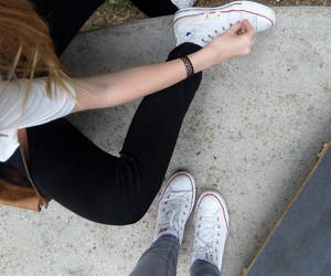 converse, grunge, and pale image