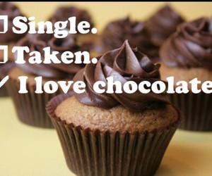chocolate, love, and cupcake image
