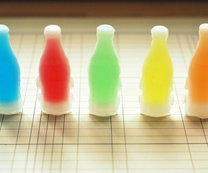 bottles, candy, and colorful image