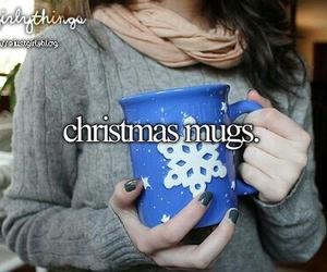 mug, christmas, and snow image