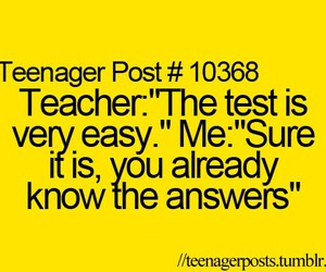 quote, funny, and teacher image