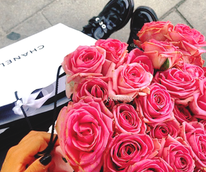chanel, flowers, and vintage image