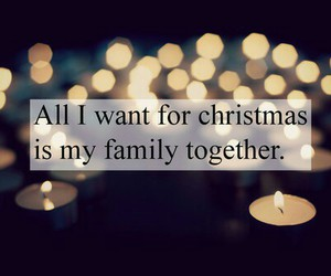 christmas, family, and candles image