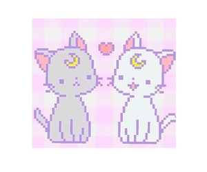 cats, kitty, and sailormoon image