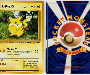 card, monsters, and pikachu image
