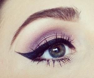 beauty, eye makeup, and girly image