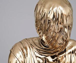 gold, art, and grunge image