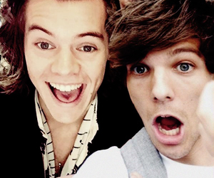 edit, louis tomlinson, and larry stylinson image