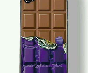 chocolate, case, and iphone image