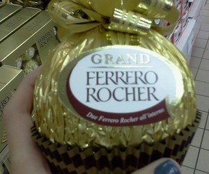 chocolate, ferrero rocher, and food image