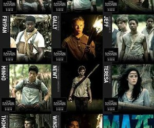 chuck, newt, and the maze runner image