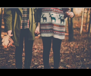 autumn, couples, and cute couple image