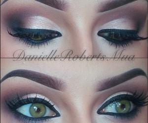 beauty, Black Eyeliner, and makeup image