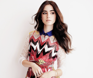 lily collins, actress, and dress image