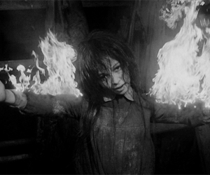 silent hill and black and white image