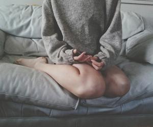 dark, girl, and indie image