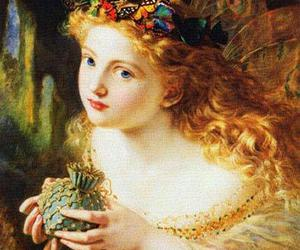 fairy, painting, and butterfly image