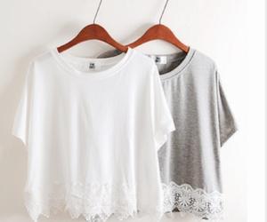 fashion, white, and grey image