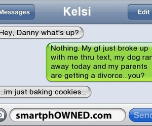 disaster, funny, and girlfriend image