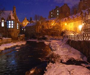 edinburgh, magic, and river image