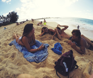 beach, sand, and summer image