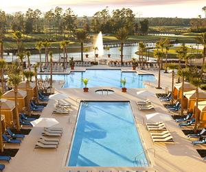 pool, luxury, and holiday image