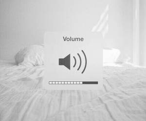 volume, music, and bed image