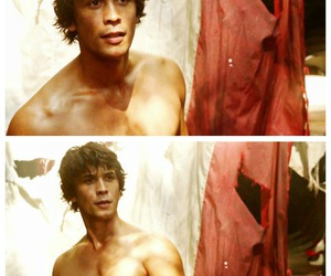 the 100, bob morley, and bellamy young image