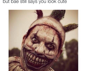 asylum, bae, and clown image