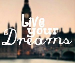 dreams and london image