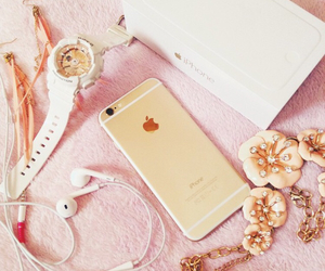 forever21, iphone, and rose gold image