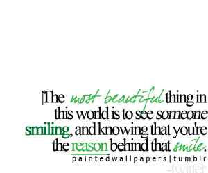 beautiful, text, and smile image