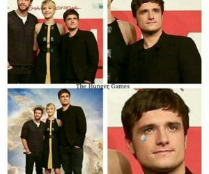 funny, the hunger games, and josh hutcherson image