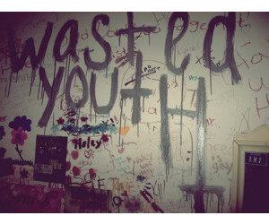 grunge, youth, and wasted image