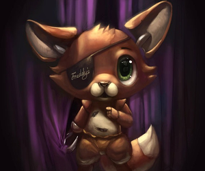 foxy, fnaf, and cute image