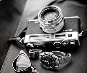 50mm, black and white, and hipster image