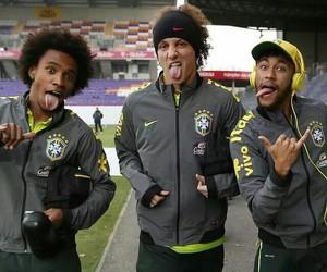 neymar, david luiz, and willian image