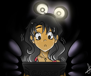 anime, Bonnie, and game image