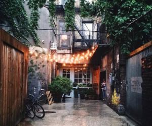 light, street, and city image