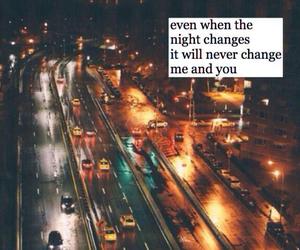 night changes, Lyrics, and one direction image