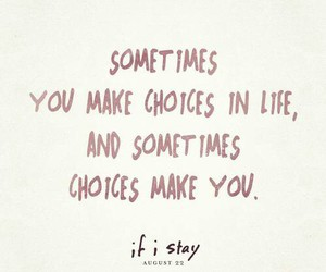 if i stay, choices, and movie image