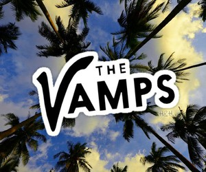 the vamps, palm tree, and wallpaper image