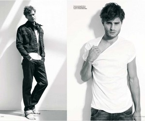 Jamie Dornan, model, and christian grey image