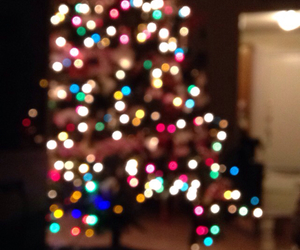 christmas, christmas tree, and colorful image