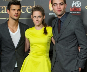 kris, rob, and Robsten image