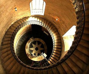 photography, architecture, and stairs image