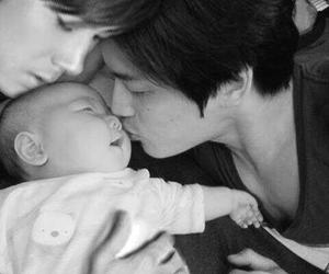 jaejoong, jyj, and baby image
