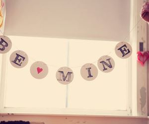 love, heart, and be mine image