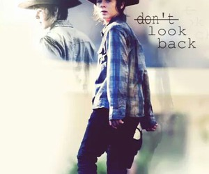 the walking dead, carl grimes, and twd image