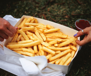 chips, food, and yum image